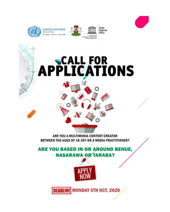 Call for Applications – Integrated Approach to Building Peace
