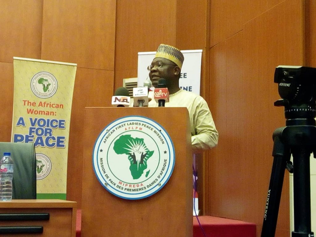 IPCR Boss delighted over Launch of WPS Nigeria Website