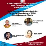 WANEP to hold conference on UNSCR1325